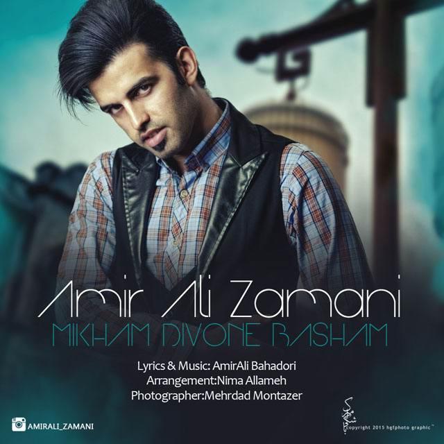 Amirali Zamani Mikham Divone Basham - متن آهنگ جدید میخوام دیوونه باشم امیرعلی زمانی