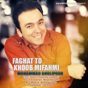 Mohammad Gholipour Faghat To Khoob Mifahmi 300x300 - متن آهنگ جدید فقط تو خوب میفهمی محمد قلی پور