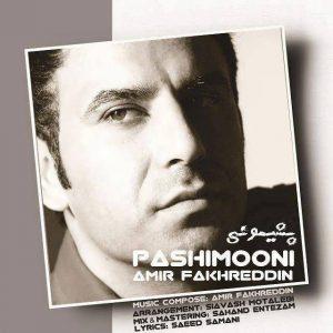 Amir Fakhreddin Pashimooni 300x300 - متن آهنگ جدید پشیمونی امیر فخر الدین